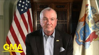 New Jersey governor reacts to rise in COVID-19 cases l GMA