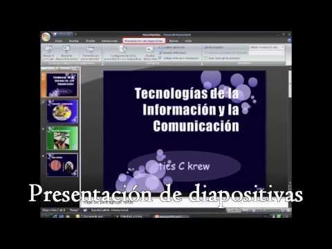 Presentaciones electrónicas PowerPoint - YouTube - presentaciones powepoint