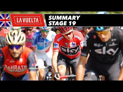 Summary - Stage 19 - La Vuelta 2017