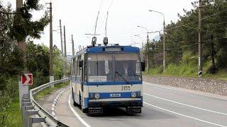 Троллейбусы Крыма: Богдан Т701.15, Škoda 14Tr, Skoda 9Tr
