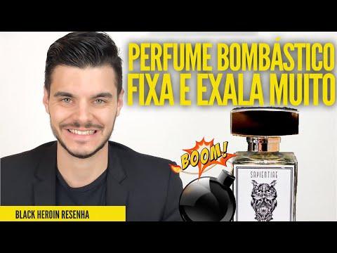 PERFUME BOMBA | FIXA E EXALA MUITO | BLACK HEROIN - SAPIENTIAE NICHE