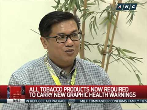 Tobacco products now required to carry new graphic warnings