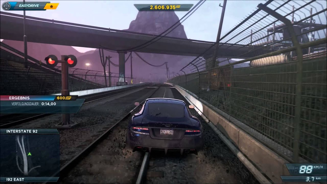need for speed most wanted 2 aston martin dbs - youtube