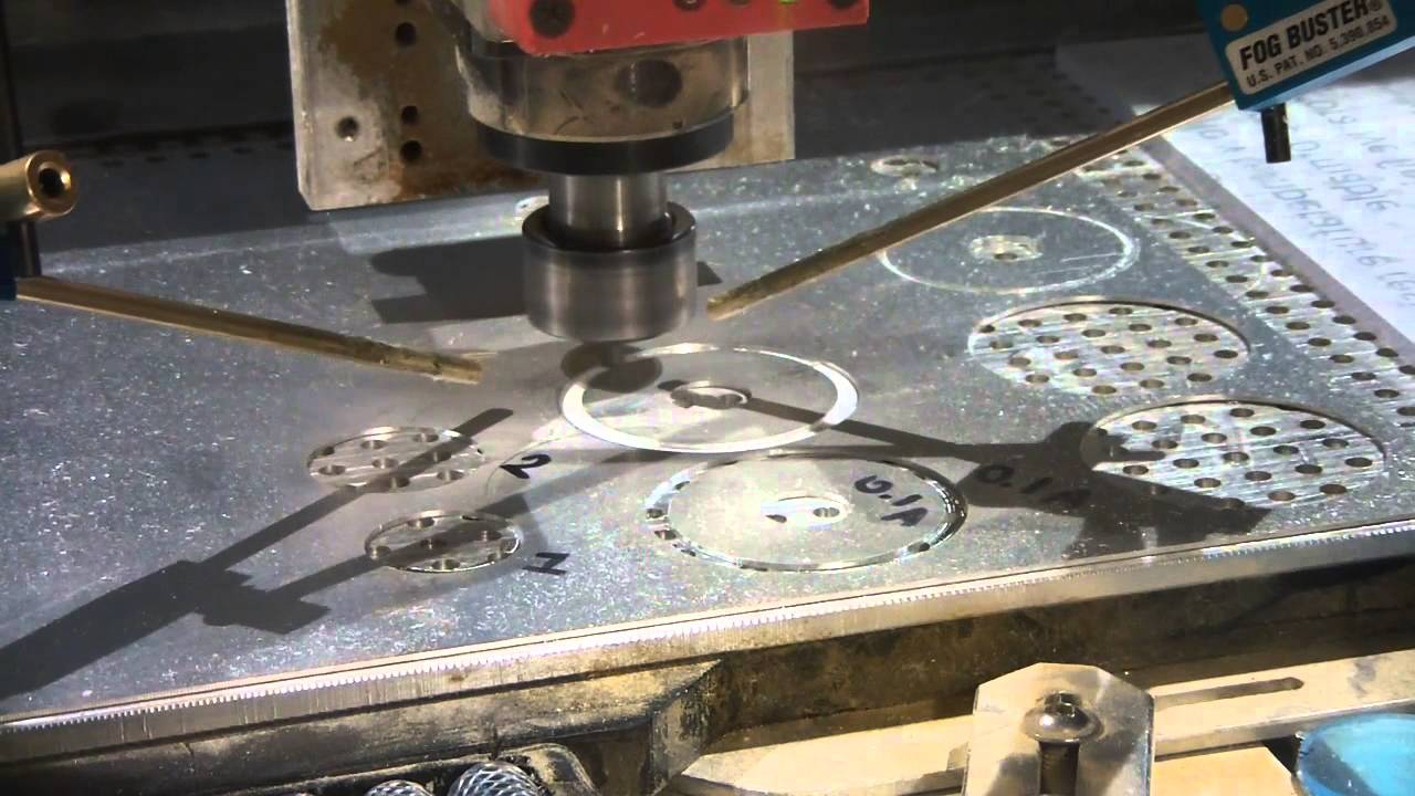 Cnc Routing 1mm Aluminum Sheet Youtube