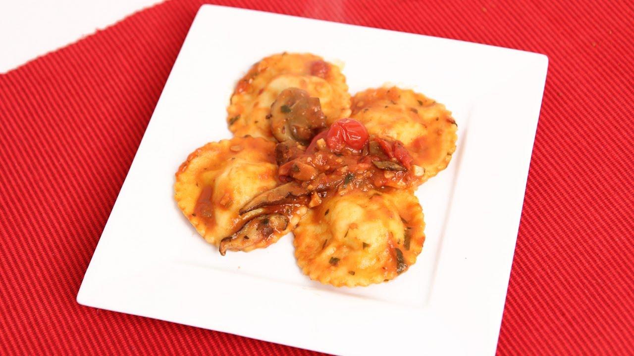 Homemade Lobster Ravioli Recipe - Laura Vitale - Laura in the Kitchen Episode 721 - YouTube