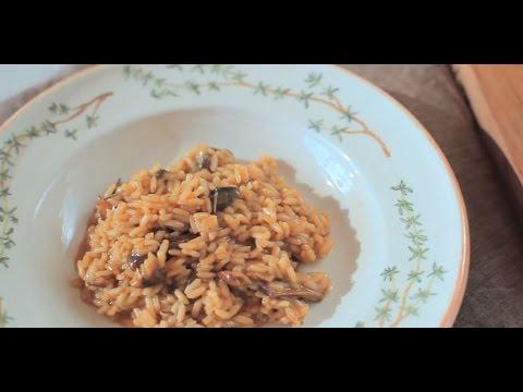 Original italienisches Steinpilzrisotto (Risotto ai porcini)