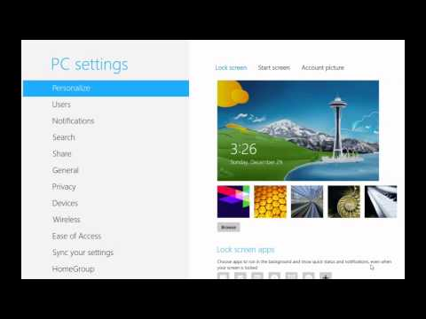 Cách Đặt Mật Khẩu (Password) Cho Máy Tính Windows 8