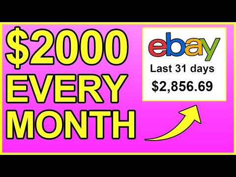 The EASIEST Way To Make Money On Ebay ($2,000/Month)