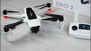 HUBSAN ZINO 2 - 4K 60FPS, 8KM Reichweite -Wie gut ist die Drohne wirklich? Mavic Konkurrenz ? Teil 1