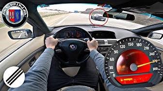 BMW E65 ALPINA B7 500HP TEST DRIVE ON GERMAN AUTOBAHN🏎