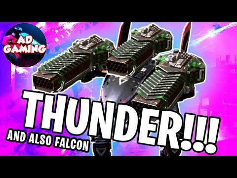 [WR] 💥THUNDER FALCON Mk2 Max Gameplay | War Robots