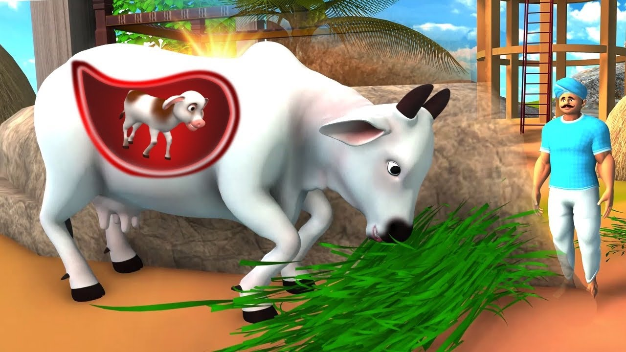 गर्भवती गाय – Pregnant COW Kahani | Hindi Moral Short Stories