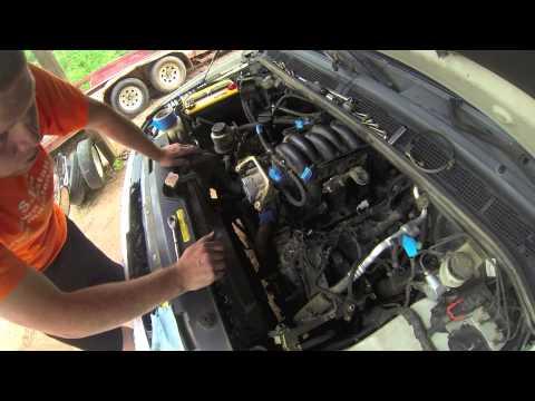 Replacing Nissan Titan Knock Sensor S Youtube