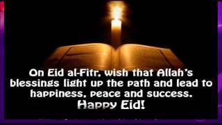 Eid Mubarak Video Greeting Card | Happy Eid-Al-Fitr whatsapp video Message