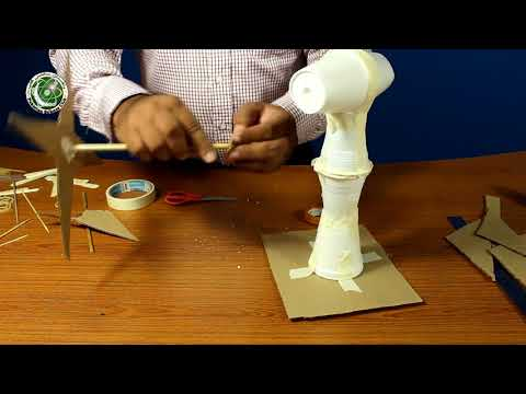 How to make Windmill Hands-on Science Club activity project
