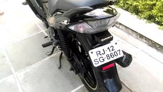 amazing bike modification yamaha+hero..............by vicky ..9667917110