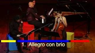 Trio Mondrian - Brahms Op 8 - Live@Einav - Pt 1