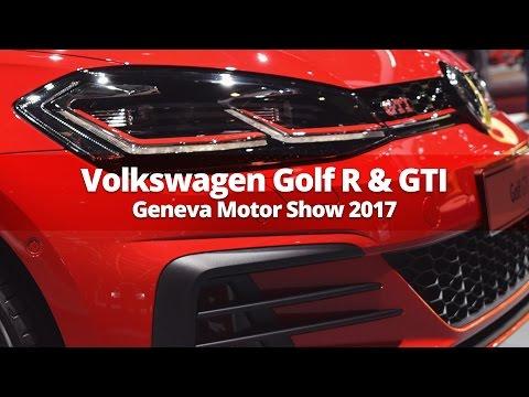 Volkswagen Golf R & Golf GTI at Geneva Motor Show 2017 | Stable Lease