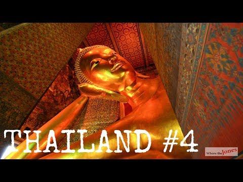 Thailand Seafood Feast & Wat (Temple) Pho /// Jones Family Travel Vlog1
