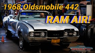 1968 Oldsmobile 442 W-30 Ram Air on the Dyno and Test Drive