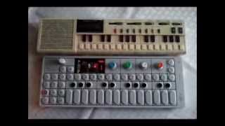 OP-1 + Casio VL-Tone Synth Jam VL-1 Analog Synthesizer