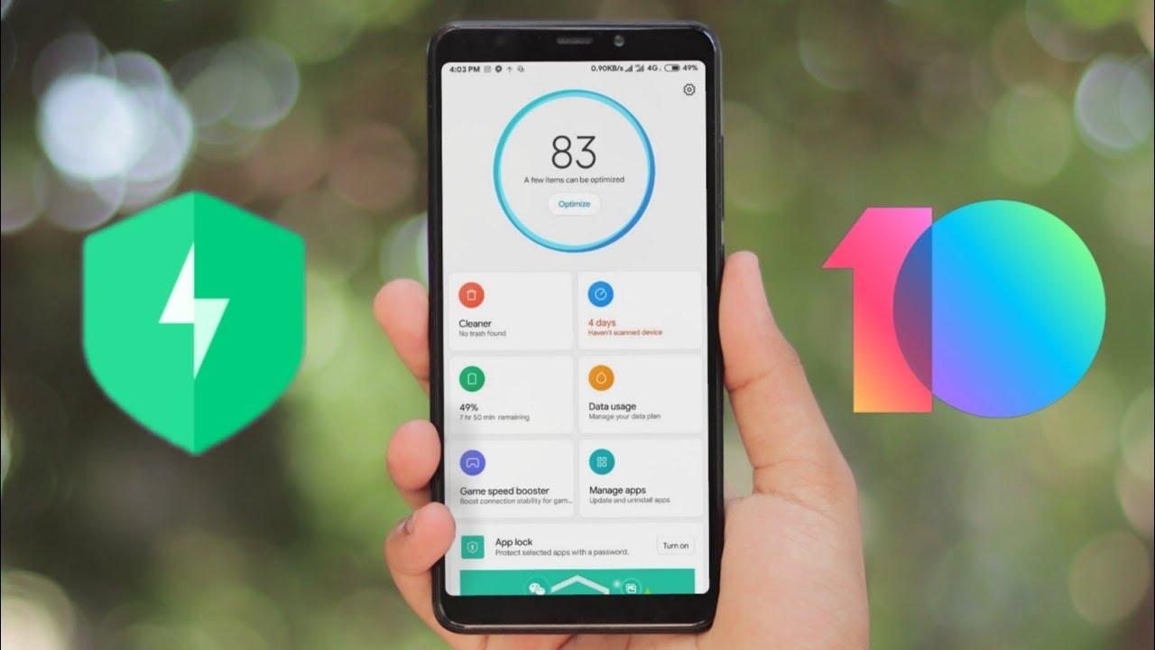 New Xiaomi MIUI 10 Security App Review