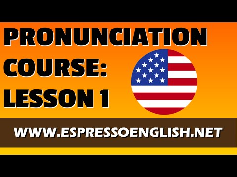 American English Pronunciation Course - Lesson 1 - SEAT, SIT, SET