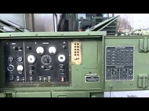 60kW MEP 006A Military Generator YouTube