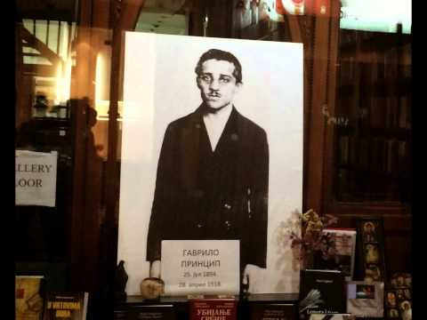 Gavrilo Princip... Hem Belgrad'da hem Mostar'da!!!