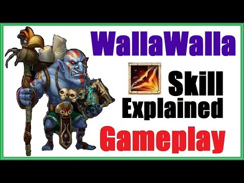 WallaWalla Game CHANGER? Gameplay - Skill Explained - Update Review Castle Clash TW