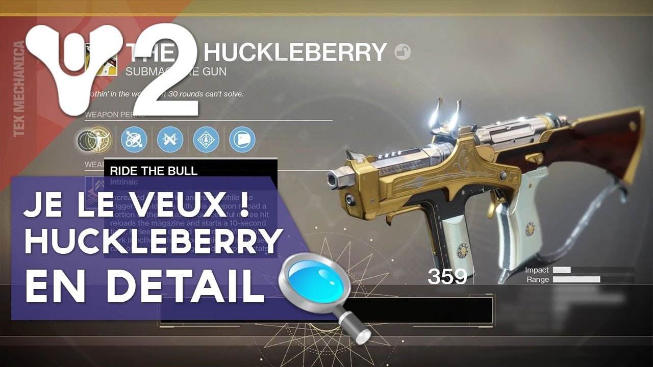 Huckleberry Destiny 2