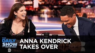 "Anna Kendrick crashes Between The Scenes and finds herself having to explain ""the list"" to Trevor. Subscribe to The Daily Show: ..."