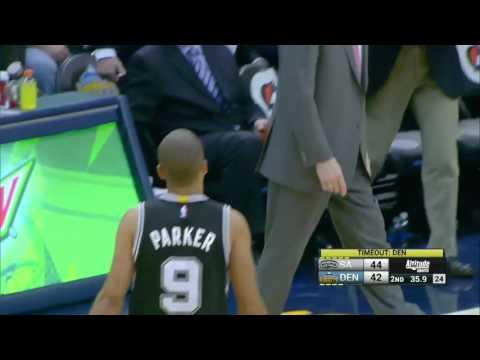 San Antonio Spurs vs Denver Nuggets | November 27, 2015 | NBA 2015-16 Season