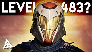 Destiny The Taken King - Light Level 483?! Exotic Chests in Patrol!