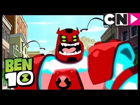 Intravensión Parte 1: Mensaje De Un Auto De Carreras | Ben 10 en Español Latino | Cartoon Network