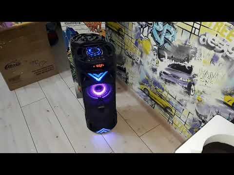Распаковка мощной колонки Smartbuy BOOM MK-3 (с микрофоном) 30 Ватт!!!