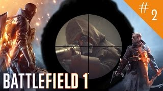 Battlefield 1: Over The Top Walkthrough - Through Mud And Blood - Part 2  Campaign - Mission 2  BF1