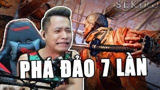 Sekiro Shadows Die Twice #1   Cười bò khi Tộc trưởng Độ Tày làm Samurai, Thử thách không được chết.
