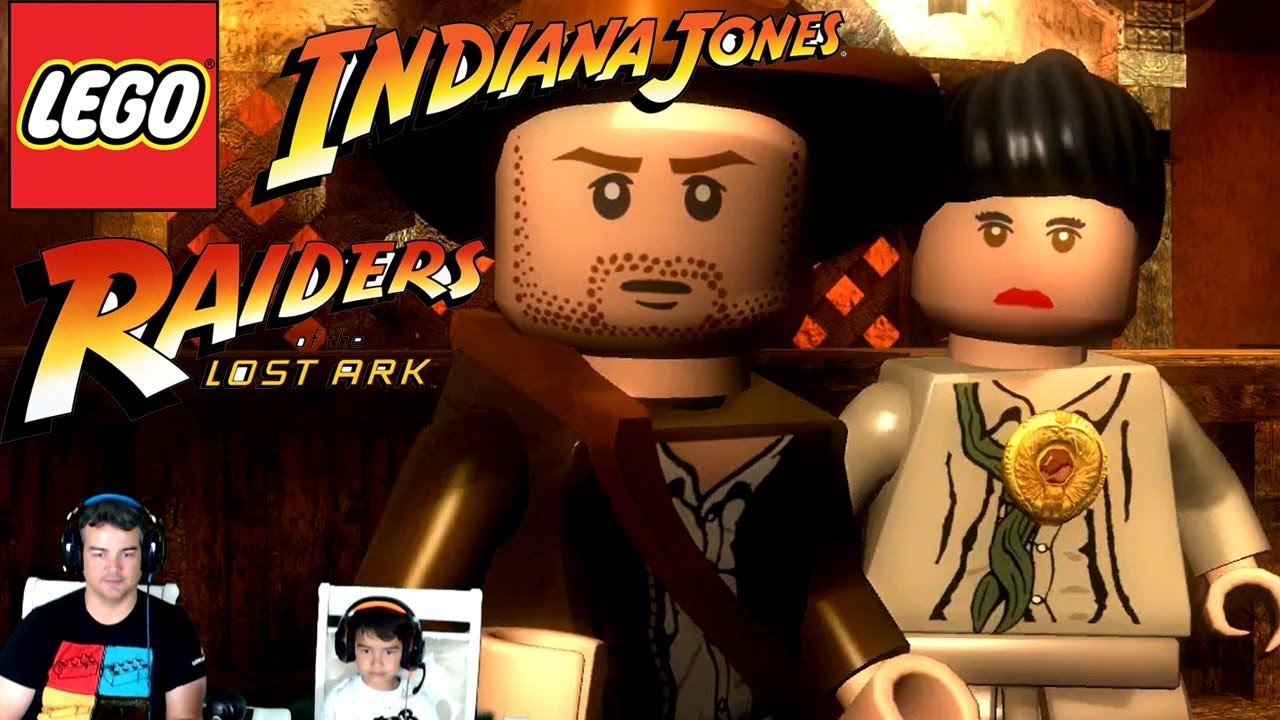 Lego Indiana Jones | Into The Mountains | Raiders of the Lost Ark | Complete Level