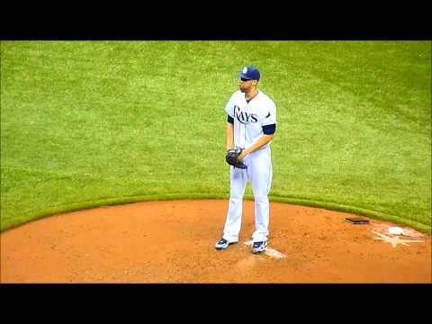 David Price pitching slow motion