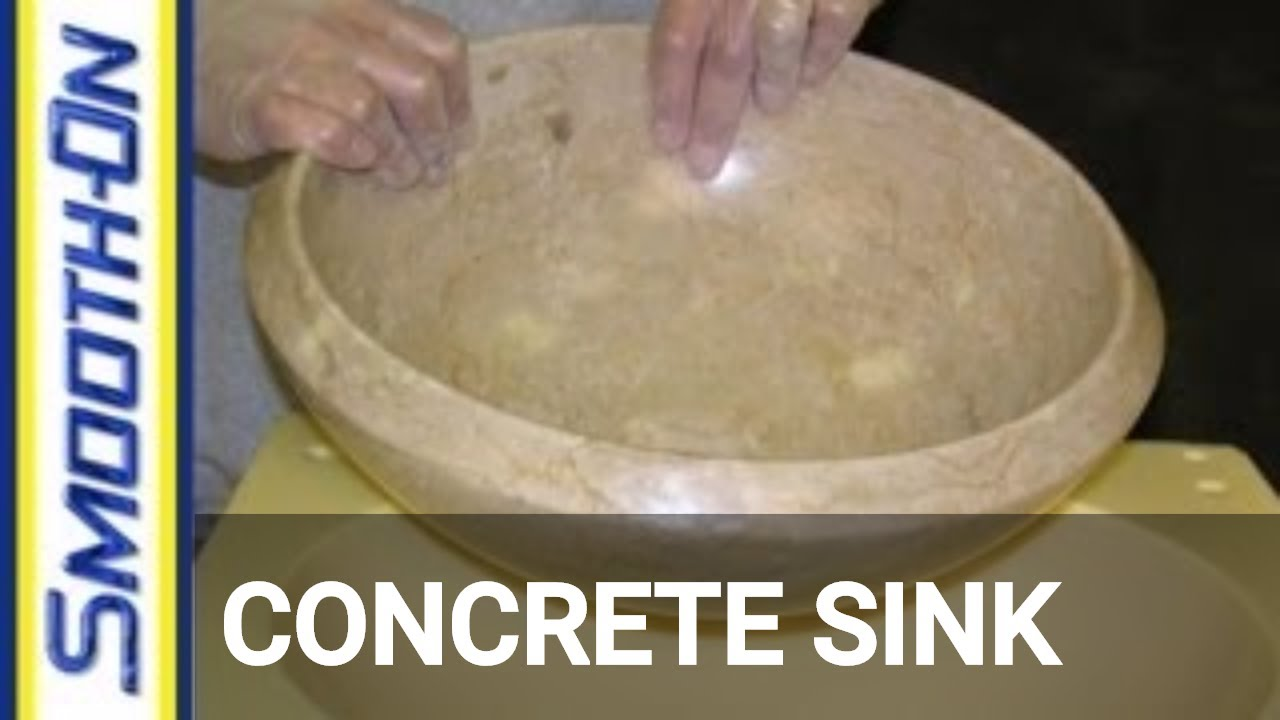 a concrete sink mold