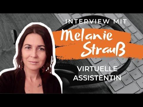 VIRTUELLE ASSISTENTIN WERDEN   Tipps, Tricks & Vorgehen   Interview mit Melanie Strauß
