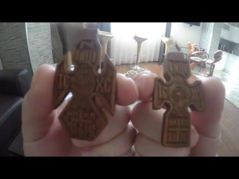 Видео обзор деревянный нательный крест