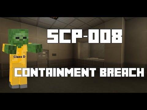 SCP-008 [Zombie Virus] Minecraft Containment Breach