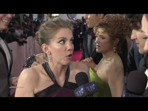 Tony Awards Red Carpet Moment - Darren Criss, Anna Chlumsky, Bernadette Peters