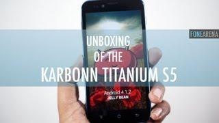 Karbonn Titanium S5 Unboxing