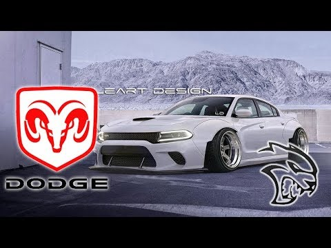 Wide Body Stance Dodge Charger Srt Hellcat Virtual Tuning