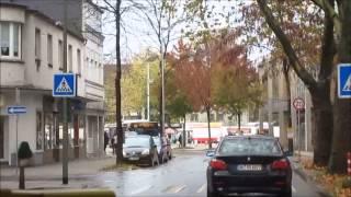 Смотреть видео Автобус в Дуйсбург