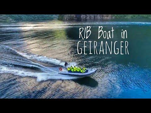RIB Boat in Geiranger