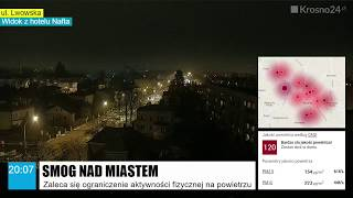 Krosno24.pl – Fatalna jakość powietrza  (27.01.2018)